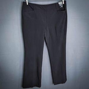 New York & Company Pants Size 16 Black Womens